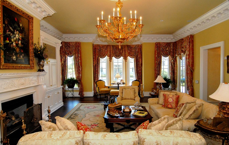 Entertain with elegance in the lovely formal living room.