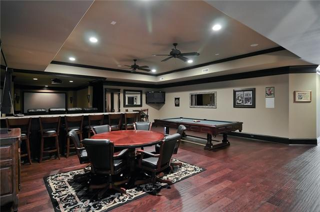 140 Alpine Court man cave - Franklin TN home for sale