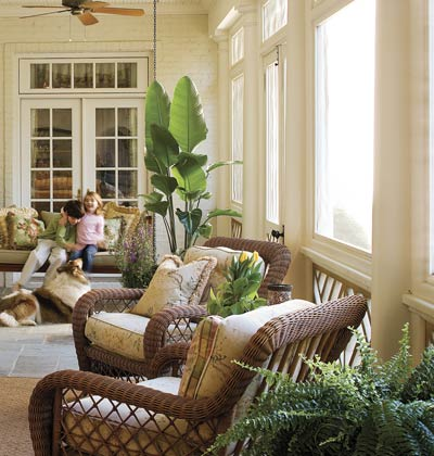 Dreamy Porches, Patios, and Outdoor Living Rooms