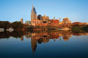 Nashville Skyline. Photo Credit: Nashville Visitors Bureau