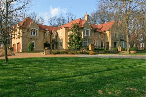 Belle Meade is home to the most expensive home sold in Nashville year to date in 2012. 4410 Gerald Place was listed at $6,000,000 and features five bedrooms, five full and two half baths.