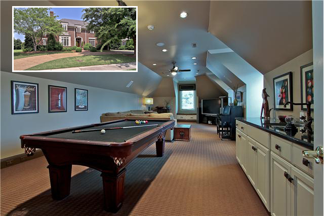 5046 Hill Place features an expansive space that has a media room, wet bar, and billiards. This custom home was built with exceptional quality by HR Builders.  Offered at $1,295,000. Click on the photo for more information and additional photos from The Lipman Group Sotheby's International Realty.