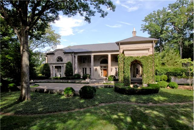 The most expensive home currently for sale in Nashville's 37205 is another home in Belle Meade: 1358 Page Road. You may also recognize this home from ABC's Nashville! Click on the image for more photos and information.