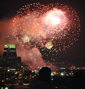 July 4th in Nashville - Downtown Fireworks Let Freedom Sing