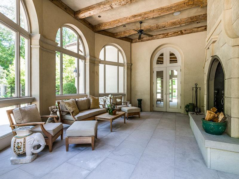 Luxury Screened Porches from Sotheby's International Realty