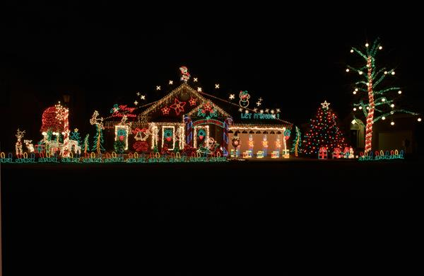 One of the 2014 Nashville Holiday Lights winners. What do you think?