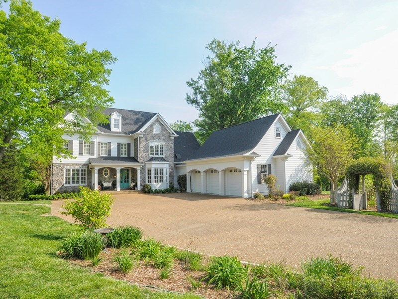 Video: Elegant Franklin Home for Sale on Six Acres