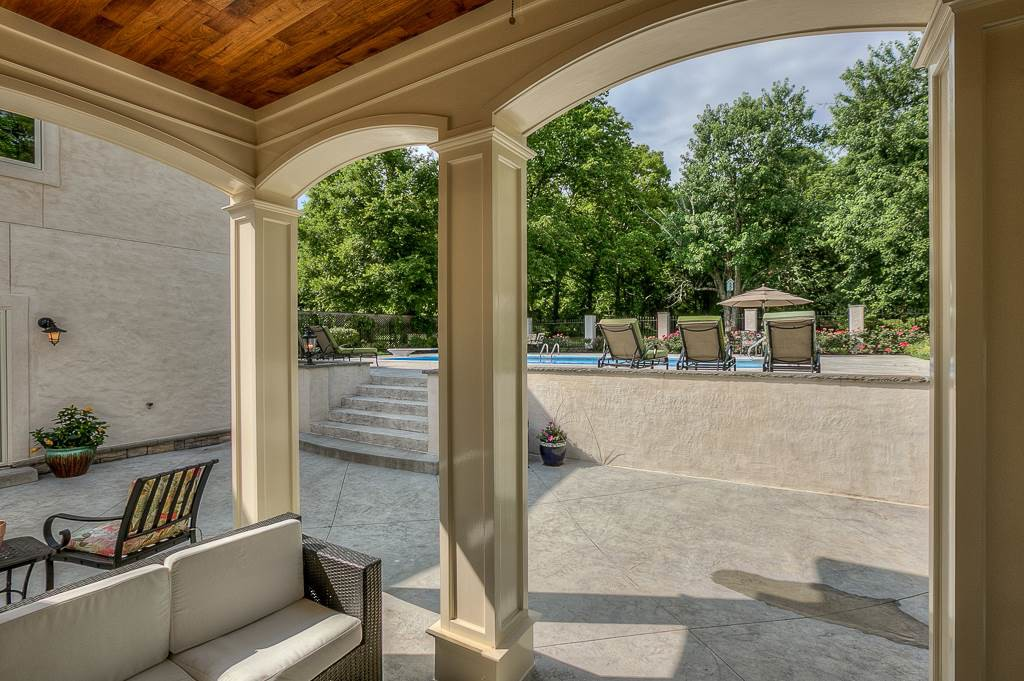 789 Elysian Fields Road Pool - Nashville mansions with swimming pools