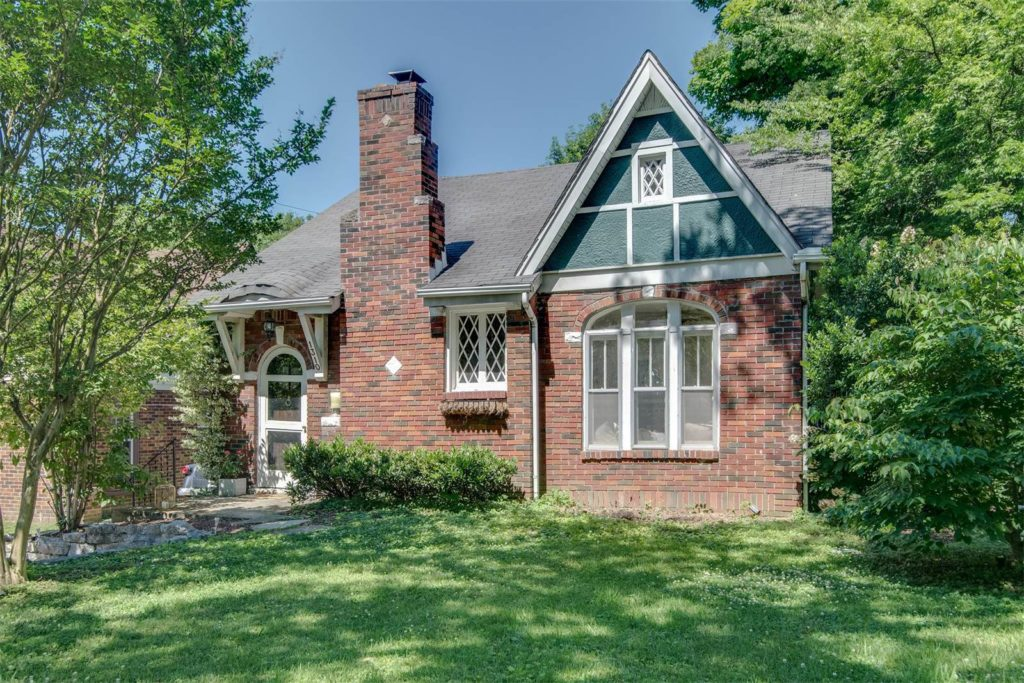 Tudor Style Homes for sale in Nashville - Classic Tudor in East Nashville