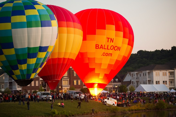 Labor Day 2016: September 4 Music City Balloon Festival